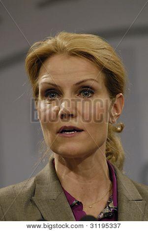 Denmark_danish Prime Minister Helle Thorning-schmidt