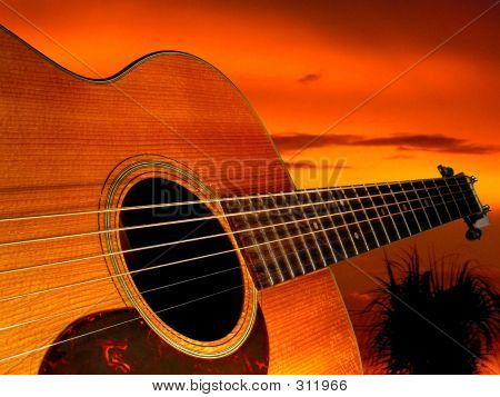 Guitarra Sunset