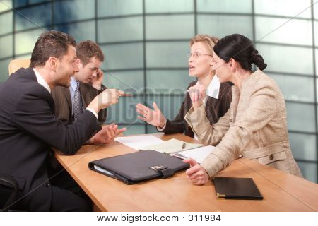 Business Negotiations - 2 Men 2 Women