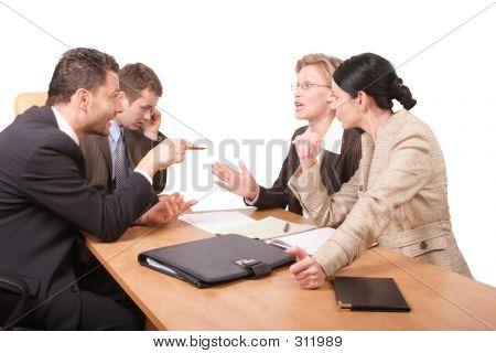 Business Negotiations - 2 Men 2 Women