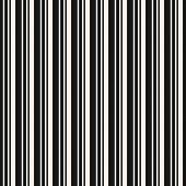 Vertical Stripes Seamless Pattern. Simple Vector Lines Texture. Modern Abstract Black And White Geom poster