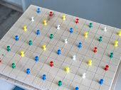 Montessori Wood Material For The Learning Mathematics Of Children At School, Preschool, Kindergarten poster