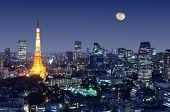 picture of ward  - Tokyo Tower in Minato Ward - JPG
