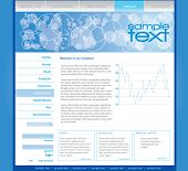 image of web template  - Editable web template - JPG