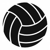 Volleyball Ball Icon. Simple Illustration Of Volleyball Ball Vector Icon For Web Design Isolated On  poster