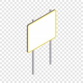 Advertising Sign Icon. Isometric 3d Illustration Of Advertising Sign Vector Icon For Web poster