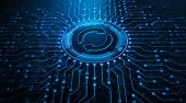 Update Software Computer Program Upgrade Business Technology Internet Concept poster