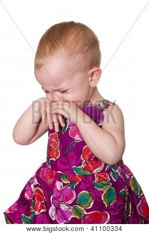 Very Upset Toddler