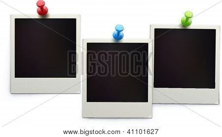 retro polaroid photo frames