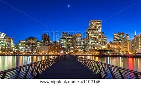 Pier 14 In San Francisco
