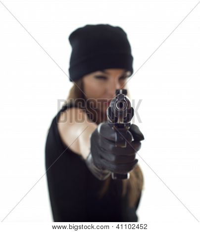 Shooting Woman