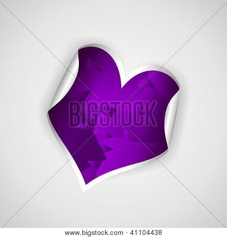 Paper Purple Hearth