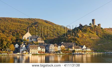 Moselle Scenery In Germany