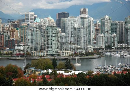 Downtown Vancouver, Bc, Canada