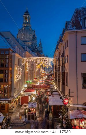 Christmas Market In Dresden