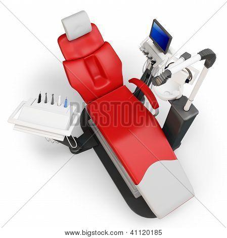 3D Dentist Chair
