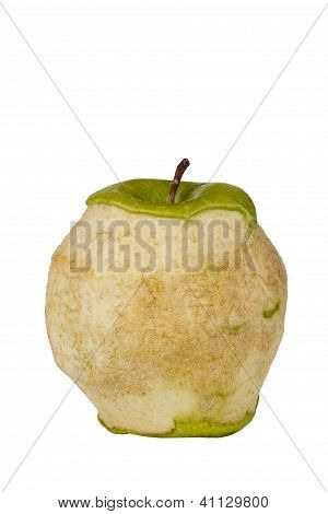 Decaying Granny Smith Apple