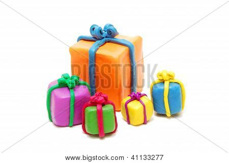 Heap Of Various Christmas Gifts