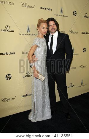 LOS ANGELES - JAN 13:  Rachel Zoe, Rodger Berman arrives at the 2013 Weinstein Post Golden Globe Party at Beverly Hilton Hotel on January 13, 2013 in Beverly Hills, CA..