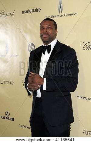 LOS ANGELES - JAN 13:  Chris Tucker arrives at the 2013 Weinstein Post Golden Globe Party at Beverly Hilton Hotel on January 13, 2013 in Beverly Hills, CA..