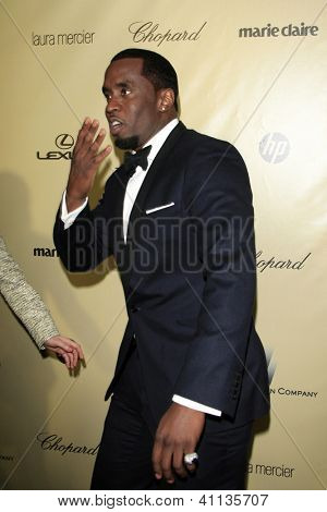 LOS ANGELES - JAN 13:  Sean Combs arrives at the 2013 Weinstein Post Golden Globe Party at Beverly Hilton Hotel on January 13, 2013 in Beverly Hills, CA..