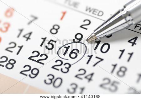 Calendar-Setting a date