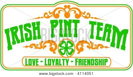 Irish Pint Team