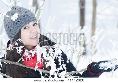Playing In Snow