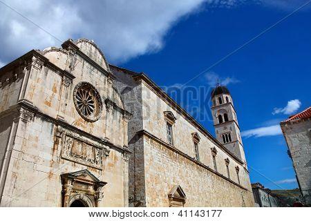 Franciscan Monastery. Dubrovnik, Croatia