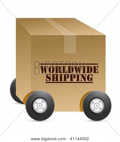 Worldwide Shipping Web Shop
