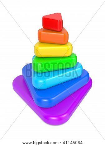 Color Layered Pyramid.