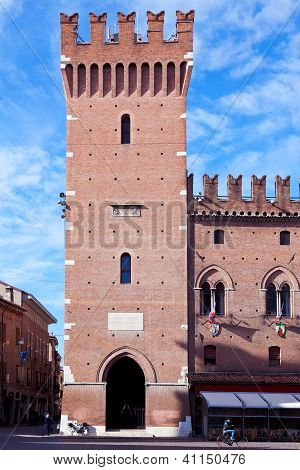 Ancient City Hall In Ferrara, Italy