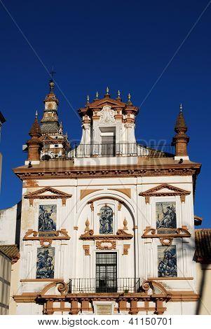 Old Spanish hospital, Seville, Spain.