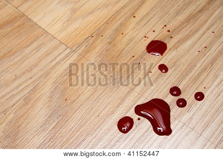 Blood Drops On The Floor