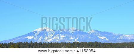 San Francisco Peaks in Flagstaff, Arizona