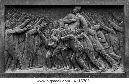 Egyptian Historical Uprising Sculpture