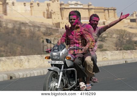 Hindu Festival Of Colors