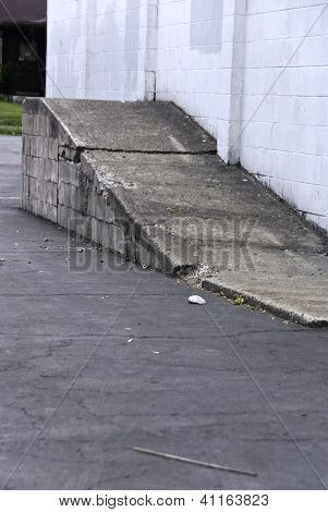 Cement Ramp