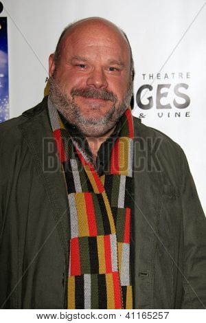 LOS ANGELES - JAN 15:  Kevin Chamberlin arrives at the opening night of 'Peter Pan' at Pantages Theater on January 15, 2013 in Los Angeles, CA