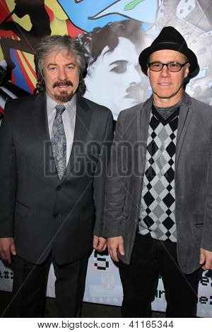 LOS ANGELES - JAN 17:  Stanley Livingston, Barry Livingston arrives at the