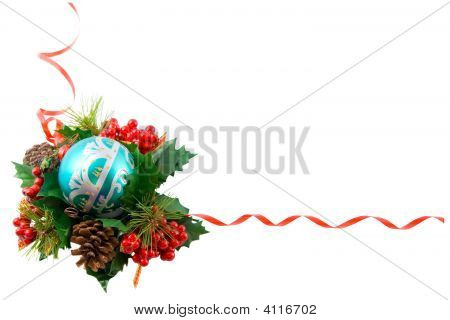 Christmas Frame, Isolated