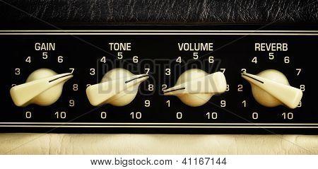 Panel del amplificador