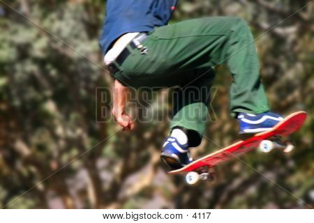 Getting Air In Color