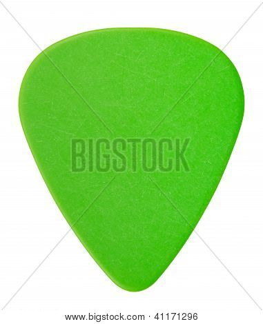 Green Plectrum