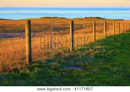 Rustic Beach Fence
