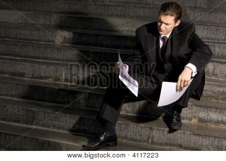 Man With Documents