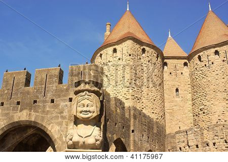 Dame Carcas Of Carcassonne, France