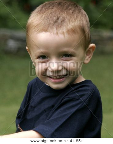 Young Boy Smiling 001