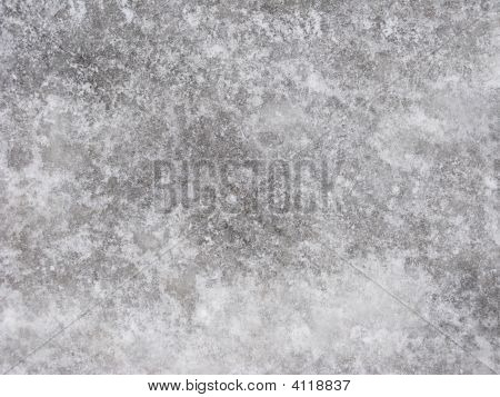 Ice-Covered Pavement Surface