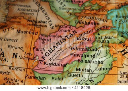 Globe - Map Of Iran
